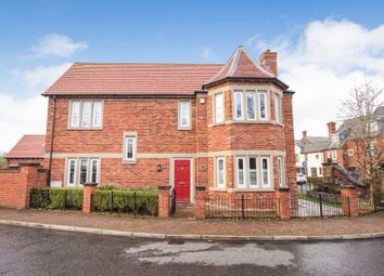 Thumbnail 4 bed detached house for sale in Stockdale Drive, Warrington