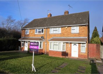 Thumbnail 3 bed semi-detached house for sale in Glastonbury Crescent, Walsall