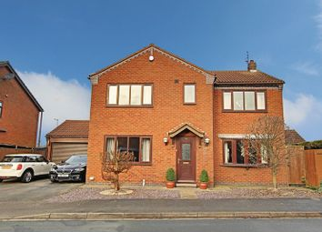Thumbnail 4 bedroom detached house for sale in Churchill Rise, Burstwick, Hull