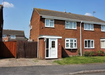 Thumbnail 3 bed semi-detached house for sale in Melrose Close, Sinfin, Derby