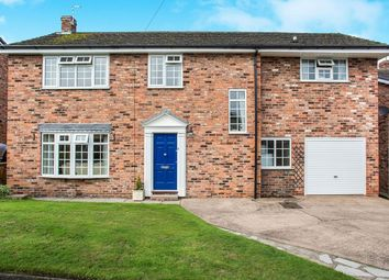 Thumbnail 4 bed detached house for sale in Valley Road, Weaverham, Northwich