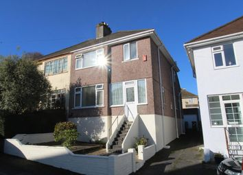 Thumbnail 3 bed semi-detached house for sale in Margaret Park, Plymouth