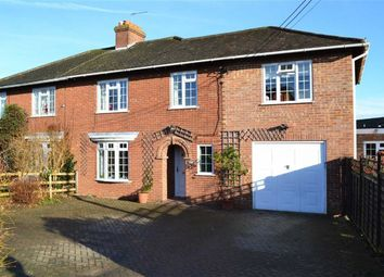 Thumbnail 4 bedroom semi-detached house for sale in Harold Road, Kintbury, Berkshire