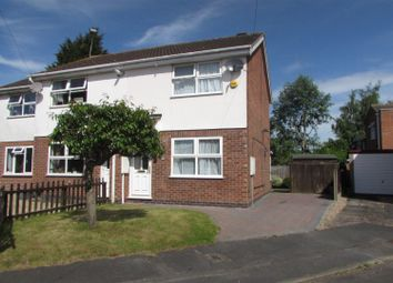 Thumbnail 2 bed semi-detached house for sale in Newby Close, Whetstone, Leicester