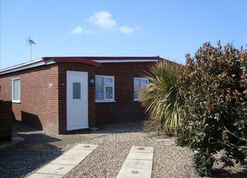 Thumbnail 2 bedroom bungalow for sale in Ostend Road, Walcott, Norwich