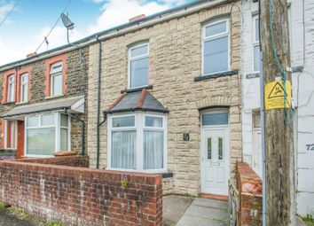 Thumbnail 3 bedroom terraced house for sale in St. Cenydd Road, Caerphilly