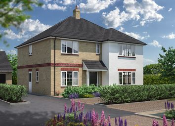 Thumbnail 5 bed detached house for sale in Rook Tree Fields, Stotfold