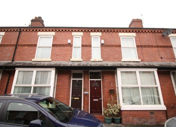 Thumbnail 3 bedroom terraced house for sale in Hartington Street, Rusholme, Manchester