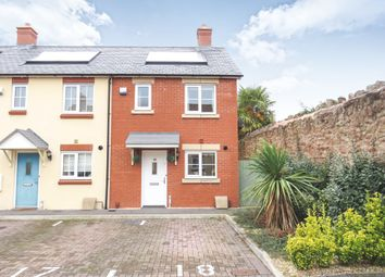 Thumbnail 2 bedroom end terrace house for sale in Blacksmith Close, Williton, Taunton