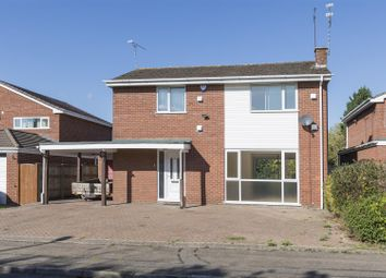 Thumbnail 4 bed detached house for sale in Vardon Drive, Styvechale, Coventry