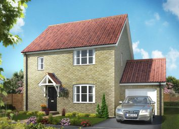 Thumbnail 4 bed link-detached house for sale in The Signals, Norwich Road, Watton