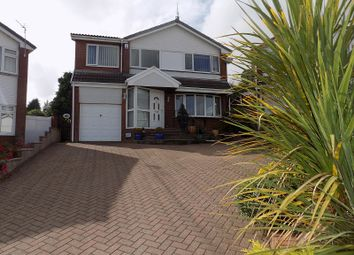 Thumbnail 4 bed detached house for sale in Heol Cae Tyla, Coychurch, Bridgend.