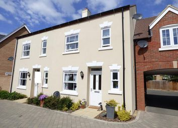 Thumbnail 3 bed terraced house for sale in Midsummer Grove, Bedford, Beds
