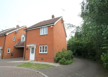 Thumbnail 3 bedroom link-detached house for sale in Lacewing Close, Pinewood, Ipswich