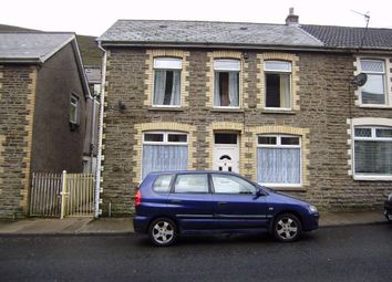 Thumbnail 3 bed end terrace house to rent in Walters Road, Ogmore Vale, Bridgend