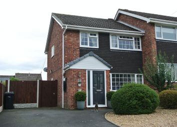 Thumbnail 3 bed semi-detached house for sale in Bramblewood, Broseley, Shropshire.