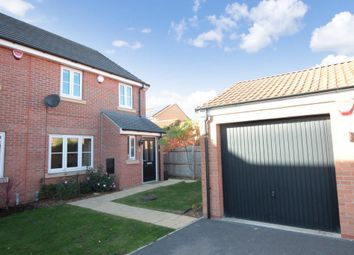 Thumbnail 3 bed semi-detached house for sale in Mill Close, South Milford, Leeds