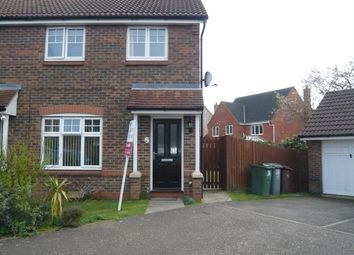 Thumbnail 3 bed end terrace house for sale in Webb Drive, Rackheath, Norwich