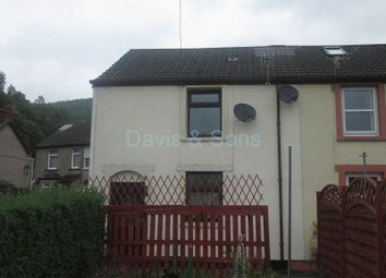 Thumbnail 2 bedroom end terrace house for sale in Woodland Terrace, Abercarn, Newport.