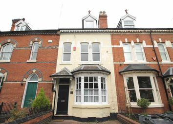 Thumbnail 4 bed terraced house for sale in Greenfield Road, Harborne, Birmingham