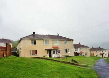Thumbnail 3 bed semi-detached house for sale in Brodeg, Cwmbach, Aberdare