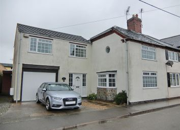 Thumbnail 4 bed semi-detached house for sale in Main Street, Thornton, Leicestershire