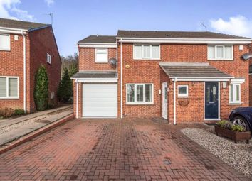 Thumbnail 3 bedroom semi-detached house for sale in Troon Close, Usworth, Washington, Tyne And Wear