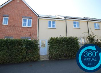 Thumbnail 2 bed terraced house for sale in Younghayes Road, Cranbrook, Exeter