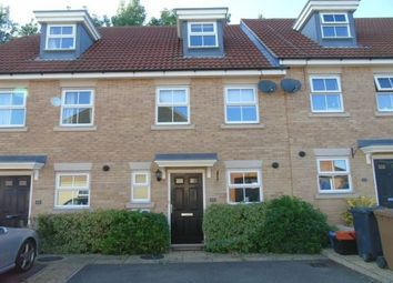 Thumbnail 3 bed town house to rent in Fresson Road, Stevenage