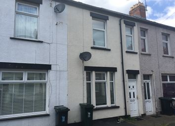 Thumbnail 3 bed terraced house to rent in Liscombe Street, Newport