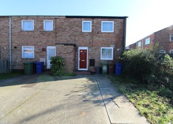 Thumbnail 2 bedroom end terrace house for sale in Monarch Close, Tilbury