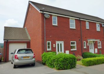 Thumbnail 3 bed end terrace house to rent in Sterlings Way, Okehampton