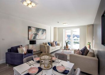 Thumbnail 1 bed flat for sale in Plot 6, Chapel Riverside, Southampton
