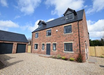 Thumbnail 5 bed detached house for sale in Northfield, Shirland, Alfreton, Derbyshire