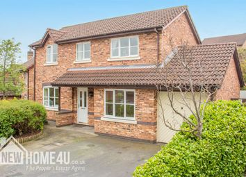 Thumbnail 4 bed detached house for sale in Hawklane Close, Connahs Quay