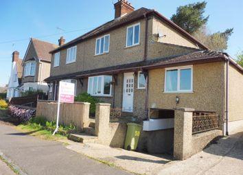 Thumbnail 4 bed semi-detached house for sale in Downham Road, Woburn Sands, Milton Keynes