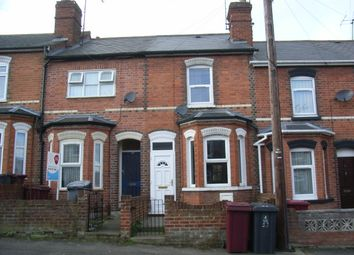 Thumbnail 2 bedroom terraced house to rent in Shaftesbury Road, Reading