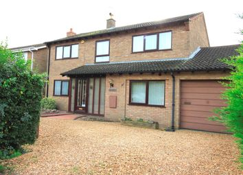 Thumbnail 4 bed detached house for sale in Glinton Road, Helpston, Peterborough