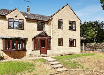 Thumbnail 4 bed detached house for sale in Kingscote, Tetbury