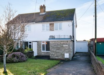 Thumbnail 3 bed semi-detached house for sale in South Road, Sully, Penarth