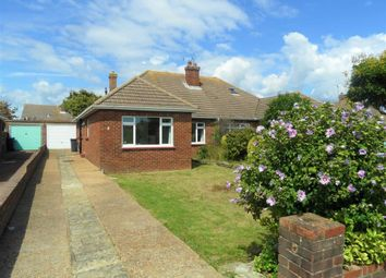 Thumbnail 3 bed semi-detached bungalow for sale in Rackham Road, Worthing, West Sussex