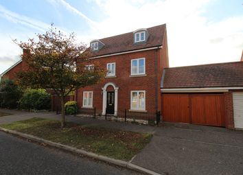 Thumbnail 5 bed detached house for sale in Maximus Drive, Colchester