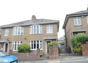 Thumbnail 3 bed semi-detached house for sale in Brancker Road, Plymouth