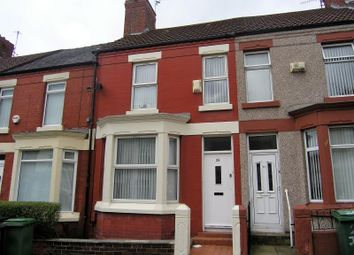 Thumbnail 2 bed terraced house for sale in Jessamine Road, Birkenhead, Wirral
