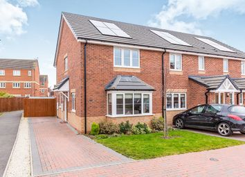 Thumbnail 3 bed terraced house for sale in St. Francis Close, Hinckley