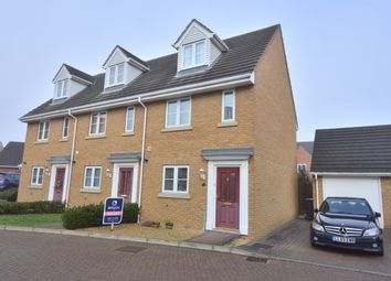 Thumbnail 3 bedroom end terrace house for sale in Rowan Way, Dunmow
