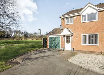 Thumbnail 3 bed semi-detached house for sale in Girtin Close, Bedworth
