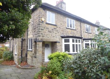 Thumbnail 4 bed semi-detached house for sale in Gledhow Lane, Leeds