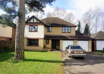 Thumbnail 4 bed detached house for sale in Brampton Close, Wisbech
