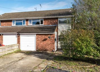 Thumbnail 3 bed semi-detached house for sale in Roslyn Road, Woodley, Reading